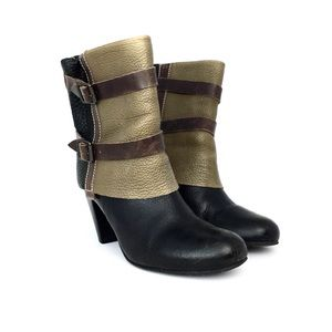 Matisse Brooklyn Leather Fold Over Booties
